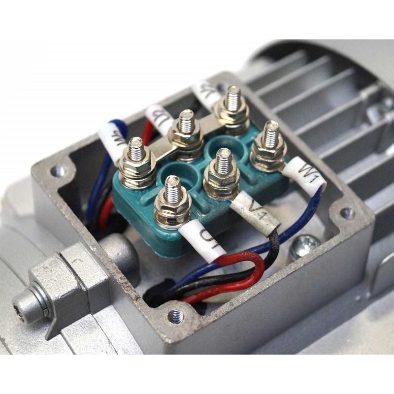 Moteur électrique 230V/400V 0.75Kw, 3000 tr/mn, B35