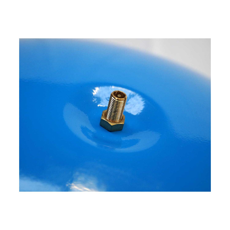 """KIT Reservoir vertical 100 litres-raccord 3 voies 1""""-clapet pied de crépine- manomètre-préssostat"""