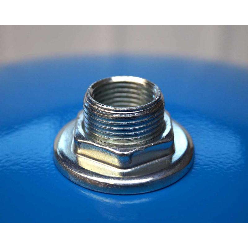 """KIT Reservoir vertical 100 litres-Té 1""""1/4-clapet anti retour 1""""1/4- manomètre-préssostat"""