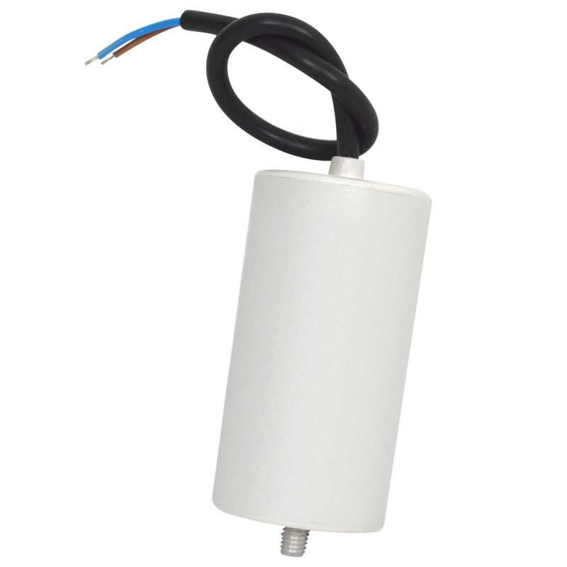 Condensateur permanent a fils