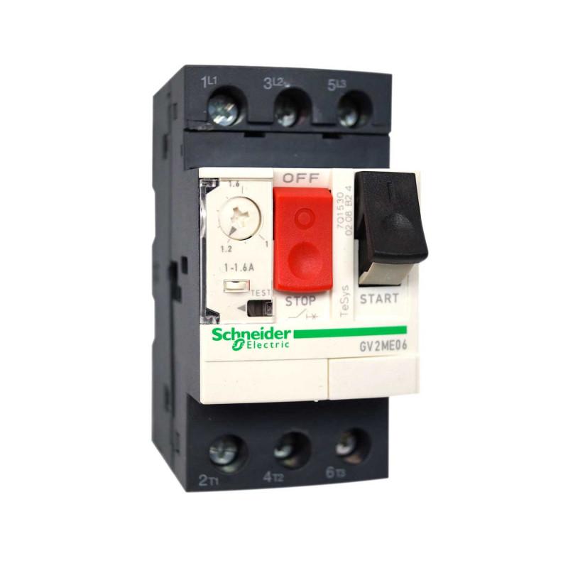 Disjoncteur magnéto-thermique 2.5A à 4A