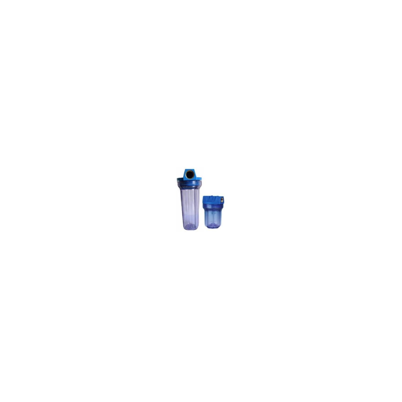 Filtre en deux parties insert laiton 9' 3/4 3/4' bol transparent