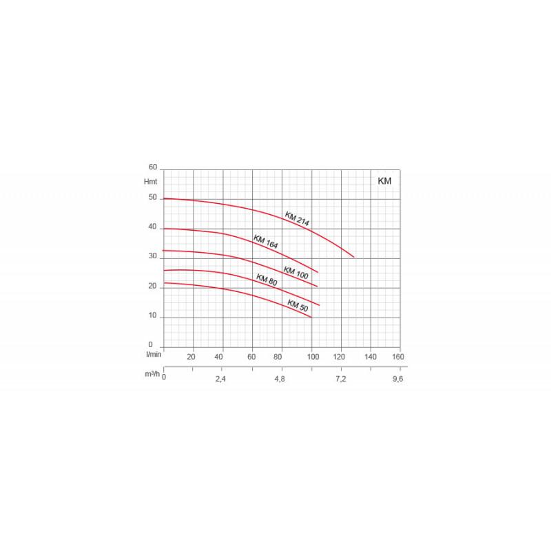 """Pompe de surface centrifuge 230V - 1.5kW - 3"""""""