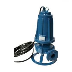 Pompe eau chargée 380V 4kw/5.5cv à roues multicanal