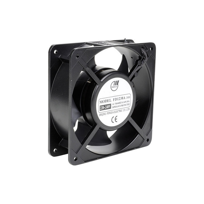 Ventilateur axial silencieux FD Carré 120x38