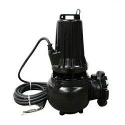 Pompe eau chargée 380V 3Kw/4cv à roues monocanale