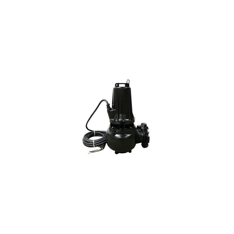 Pompe eau chargée 380V 5.5Kw/7.5cv à roues monocanale