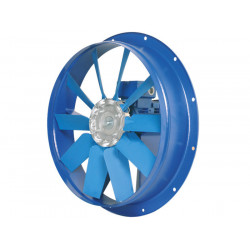 Ventilateur  axial, platine métallique HBA Ø80T43 400 V Triphasé