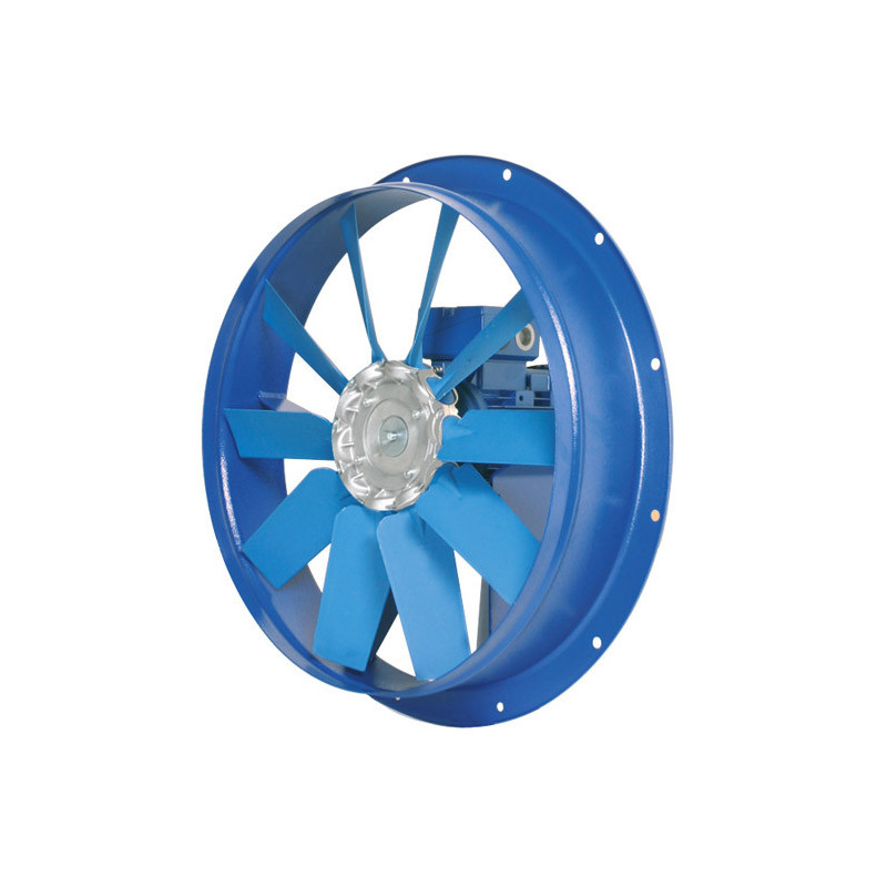 Ventilateur  axial, platine métallique HBA Ø80T61 400 V Triphasé