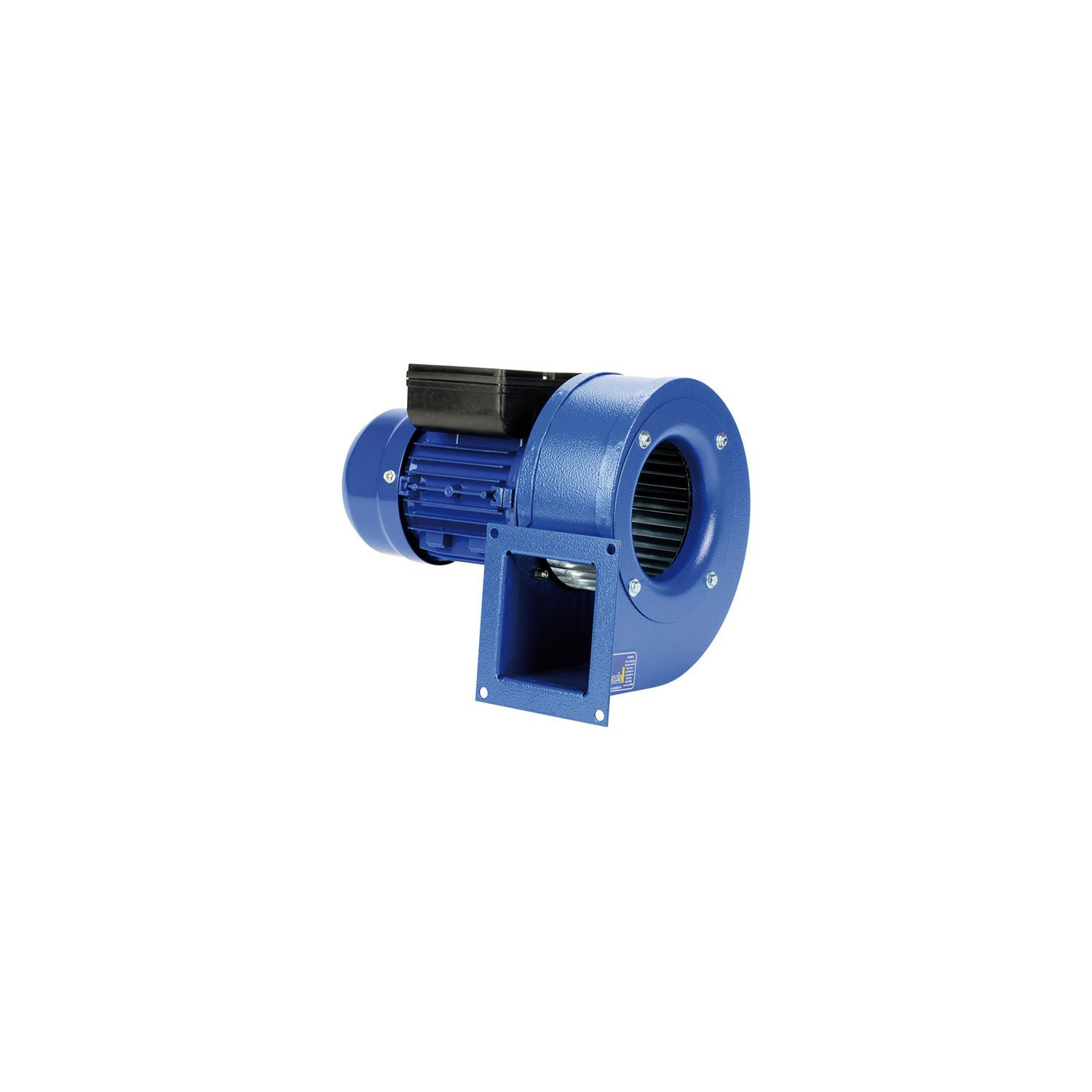 Ventilateur centrifuge turbine à action MB Ø125T4110