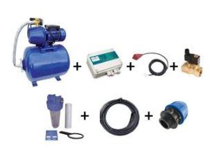 Kit de pompage pour récupération d'eau pluviale